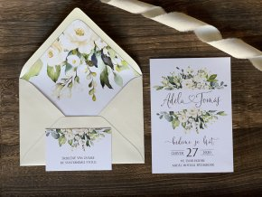 Svatební oznámení no.139 (Varianty produktu Štítek kulatý 5cm)