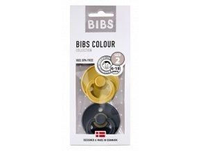 BIBS COLOUR PACK 120242 Mustard DarkDenim