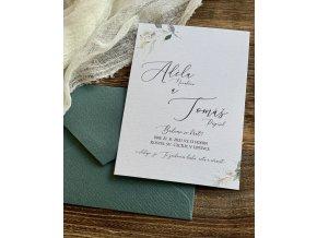 Svatební oznámení no.144 (Varianty produktu Štítek kulatý 5cm)