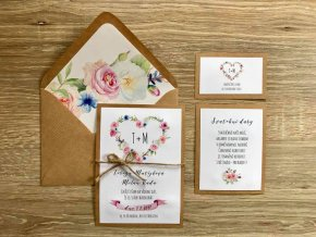 Svatební oznámení no.31 (Varianty produktu Svatební oznámení)