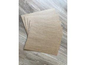 Kraftový recyklovaný papír (10ks)