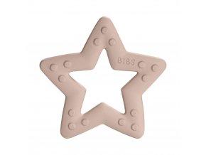 BIBS Baby Bitie Hryzatko Kousatko Star Blush