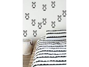postel kos predloha panda