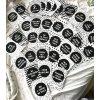 POKRAČOVACÍ Milníkové kartičky black&white 35ks (UNISEX) (Dárková krabička Milníkové kartičky bez dárkové krabičky)