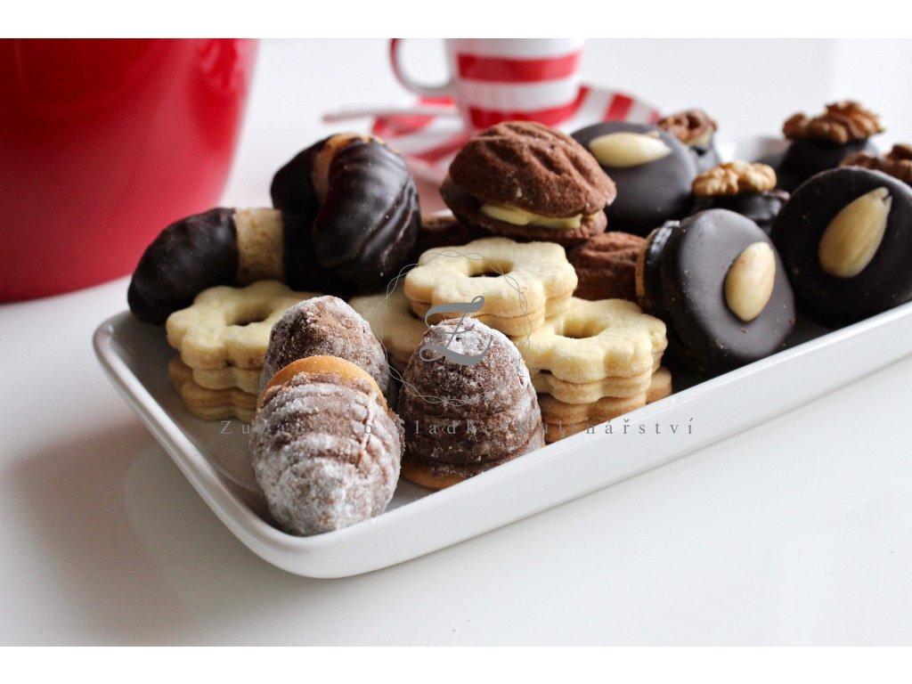 Vánoční domácí cukroví