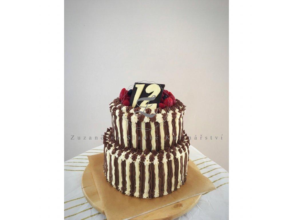 74 narozeninovy dort