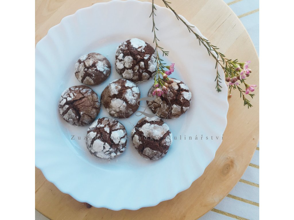 Marocké ghriba sušenky