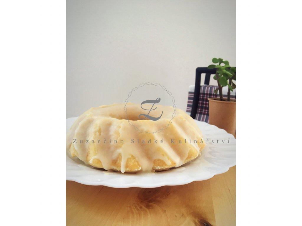 Veganský bezlepkový Citrónový dort