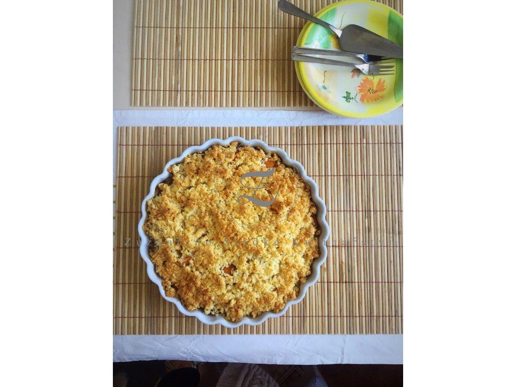 Meruňkový DIA koláč