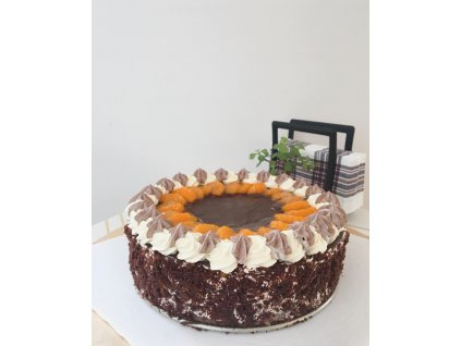 Veganský bezlepkový pohádkový dort