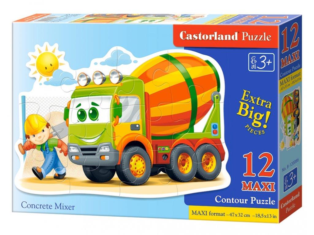 Castorland detské Maxi puzzle Domiešavač 12 dielikov
