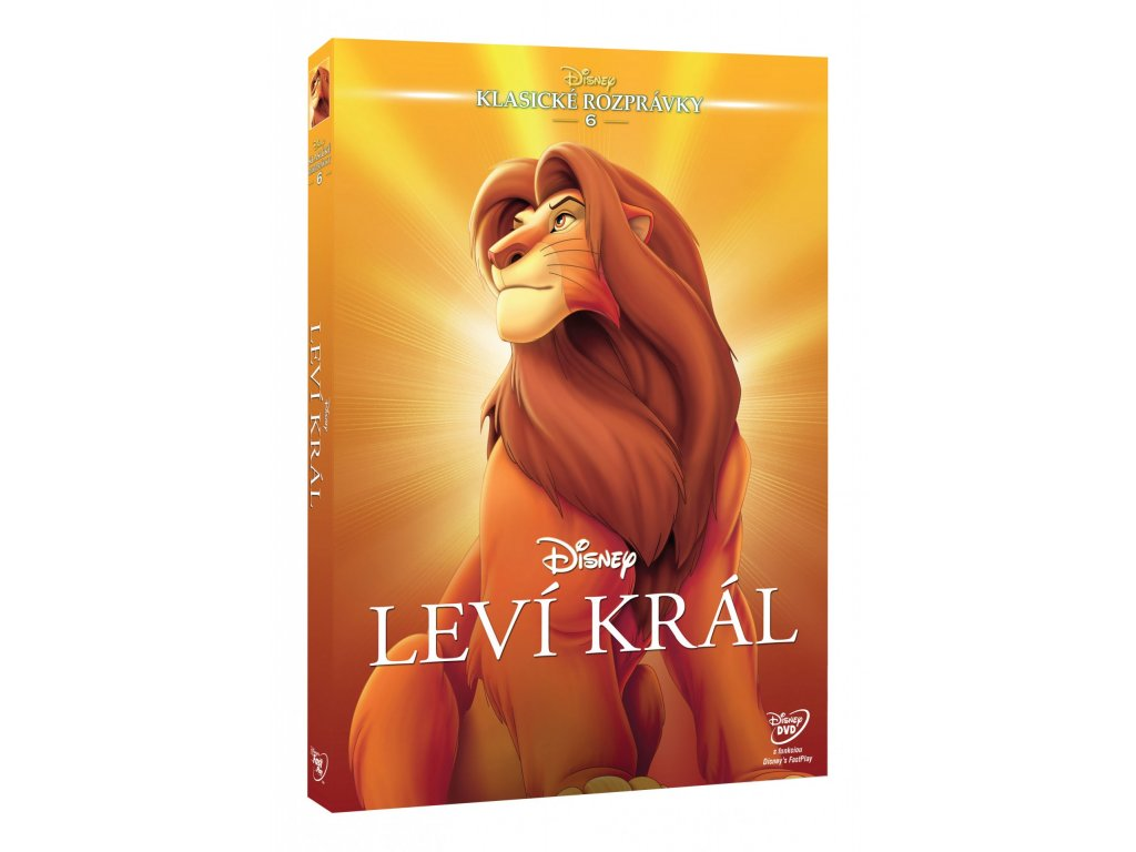 DVD Film - Walt Disney - Leví král