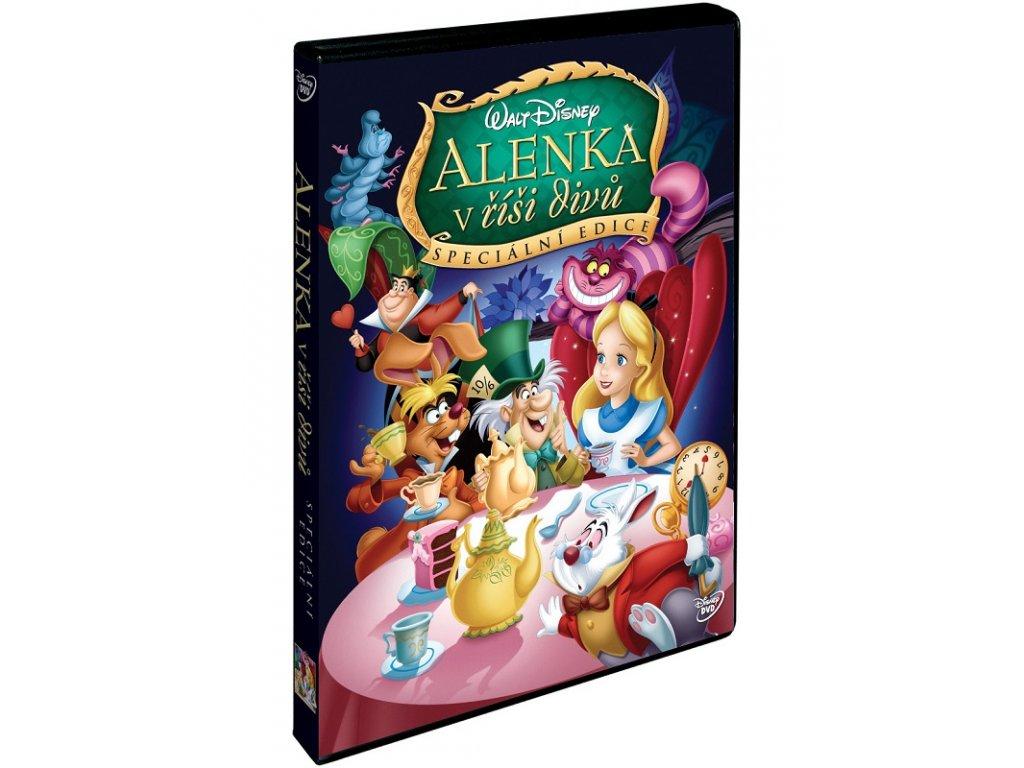 DVD Film - Walt Disney - Alenka v ríši divú Speciální edice