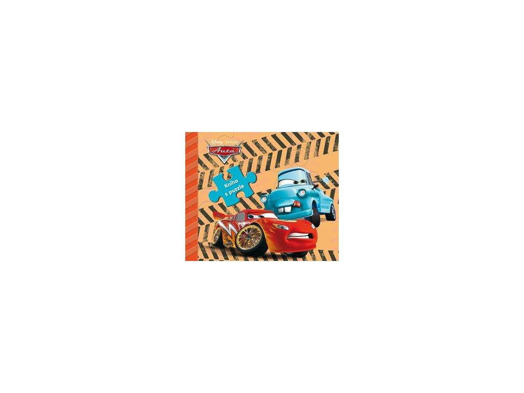 Autá 2 - kniha s puzzle