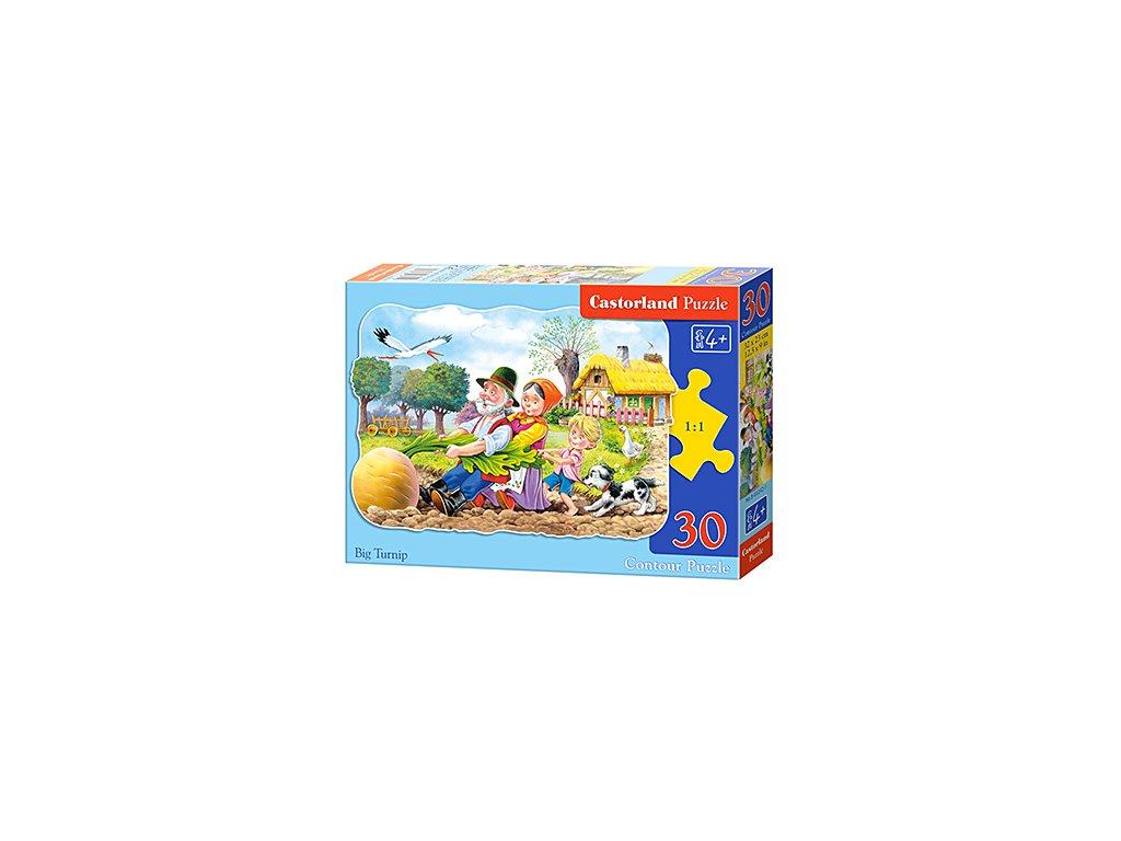 Castorland detské puzzle Veľká repa 30 dielikov
