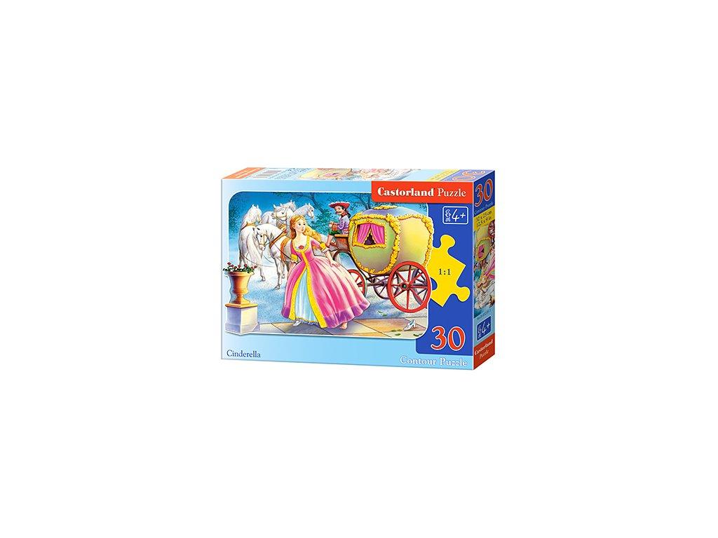 Castorland detské puzzle Popoluška 30 dielikov