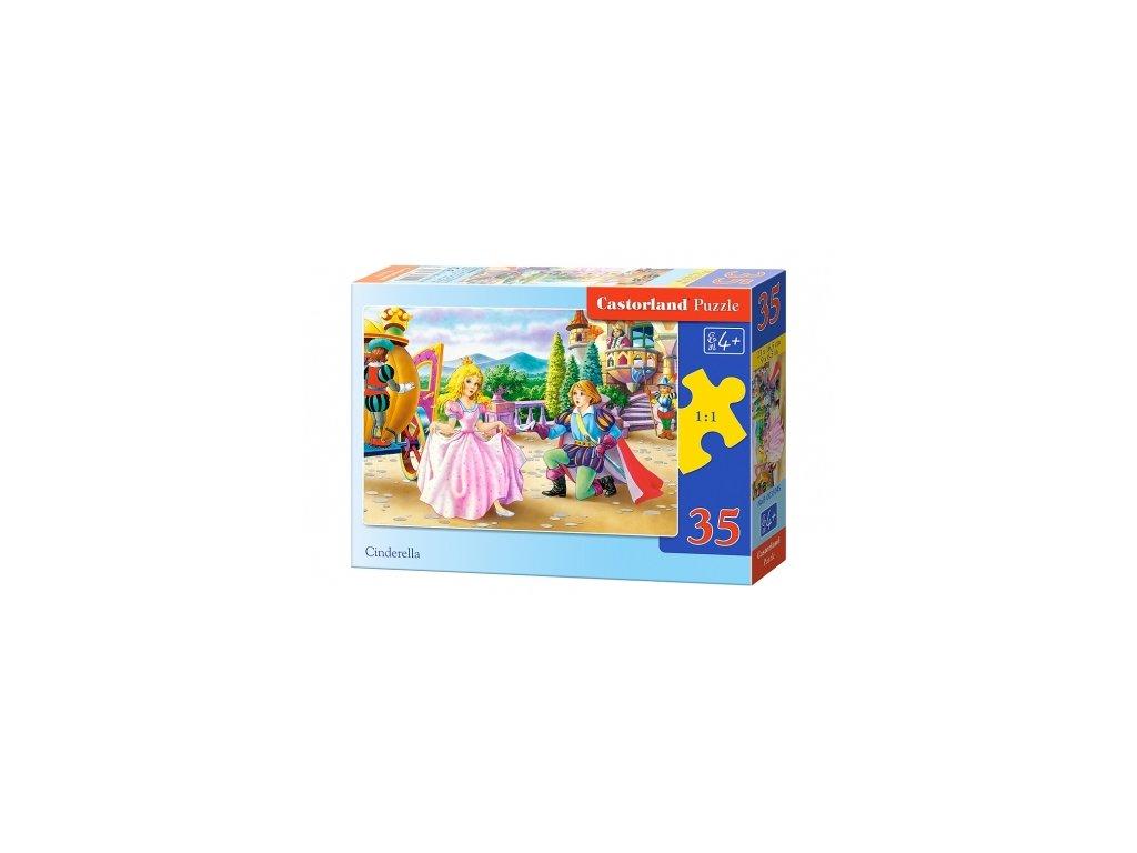 Castorland detské puzzle Popoluška 35 dielikov