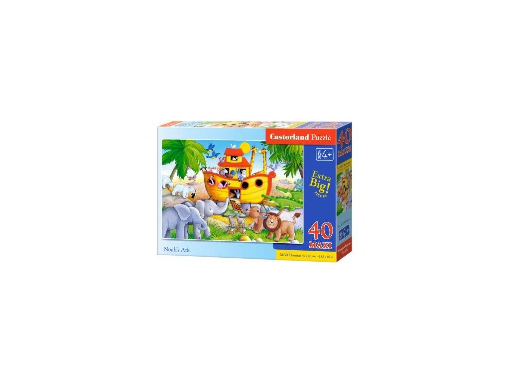 Castorland detské Maxi puzzle Noemova archa 40 dielikov