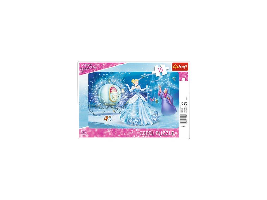 Trefl detské puzzle Magická noc 15 dielikov
