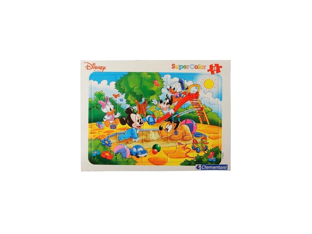 Clementoni SuperColor Disney Babies Pieskovisko 15 dielikov