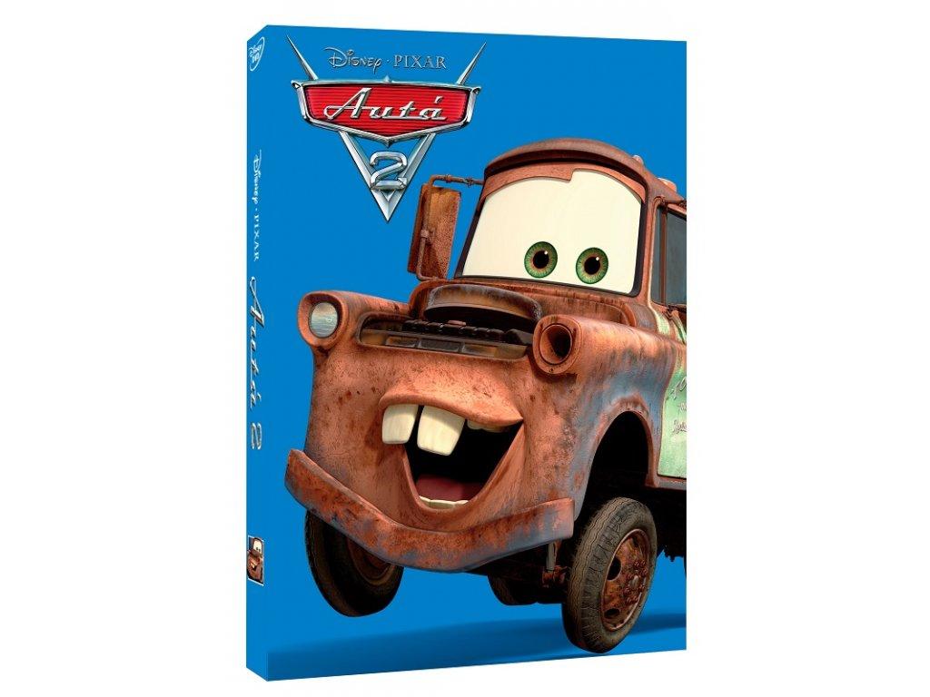 auta 2 dvd sk disney pixar edicia 3D O