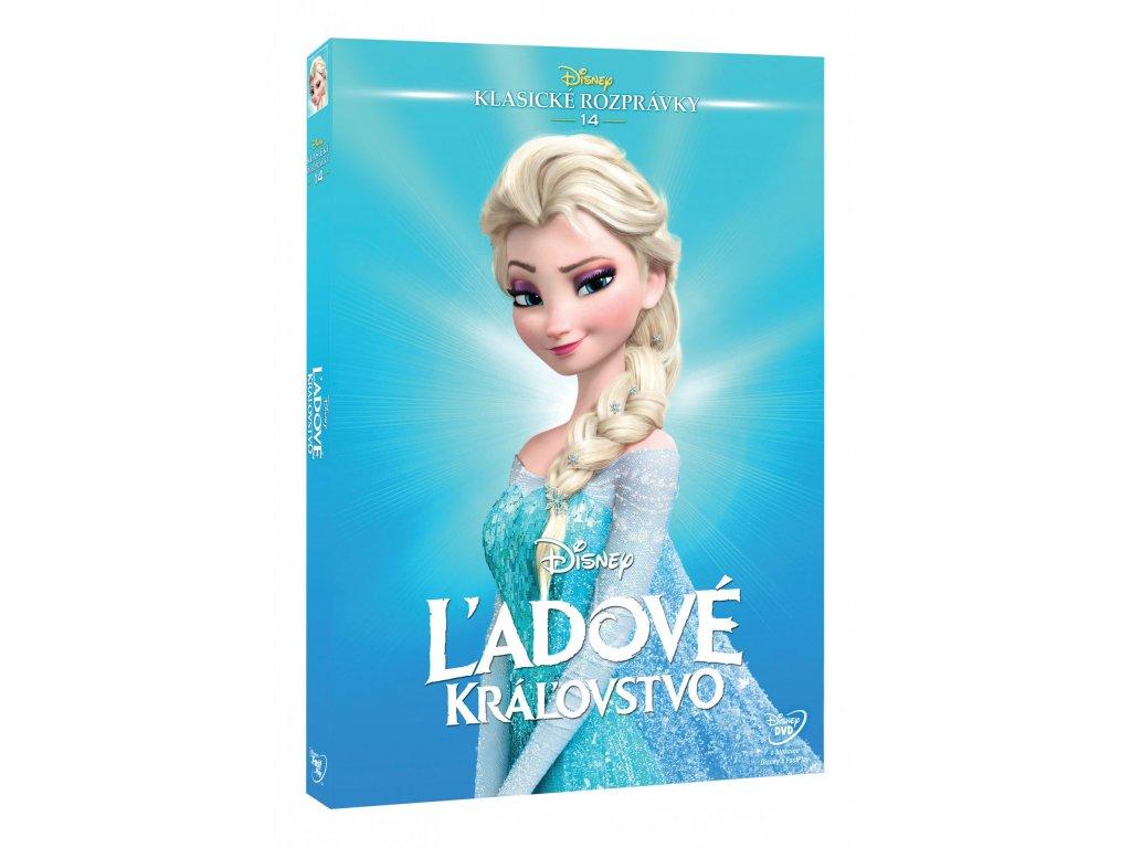 DVD Film - Walt Disney - Ľadové kráľovstvo