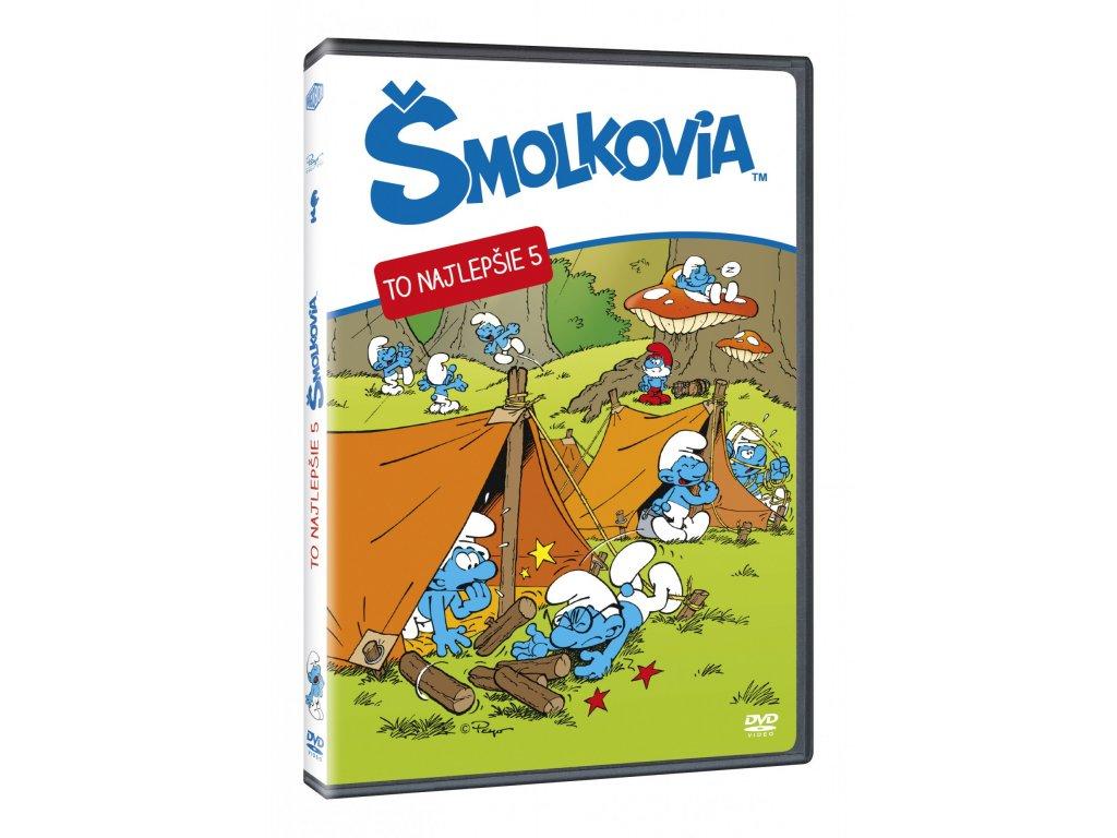 DVD - Šmolkovia - To najlepšie 5