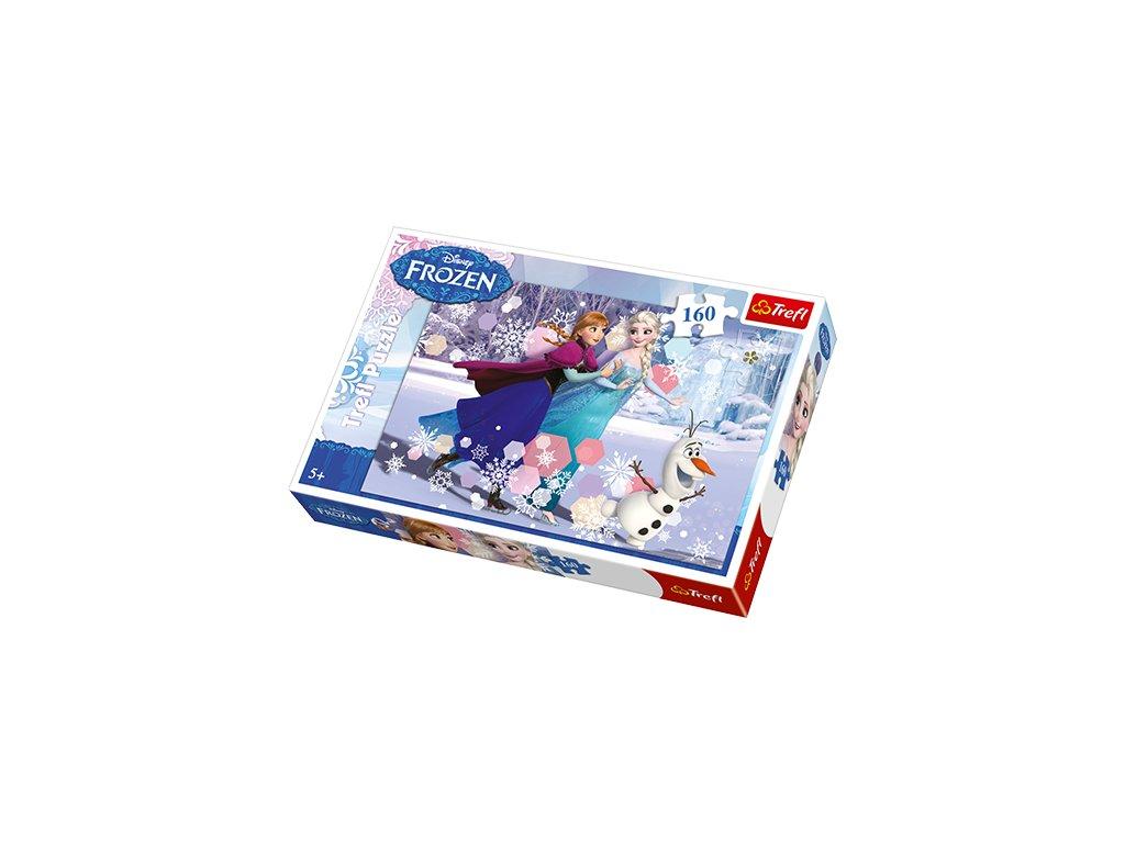 Trefl detské puzzle Ľadové kráľovstvo 160 dielikov
