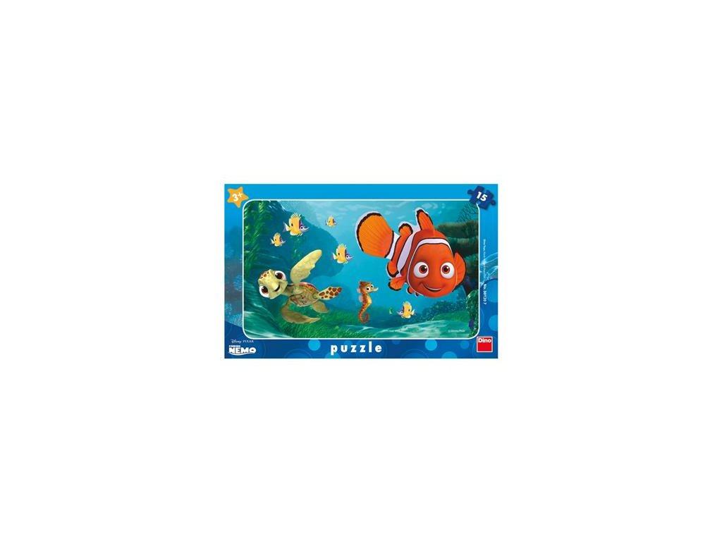 Dino Doskové puzzle Nemo a korytnačka 15 dielikov