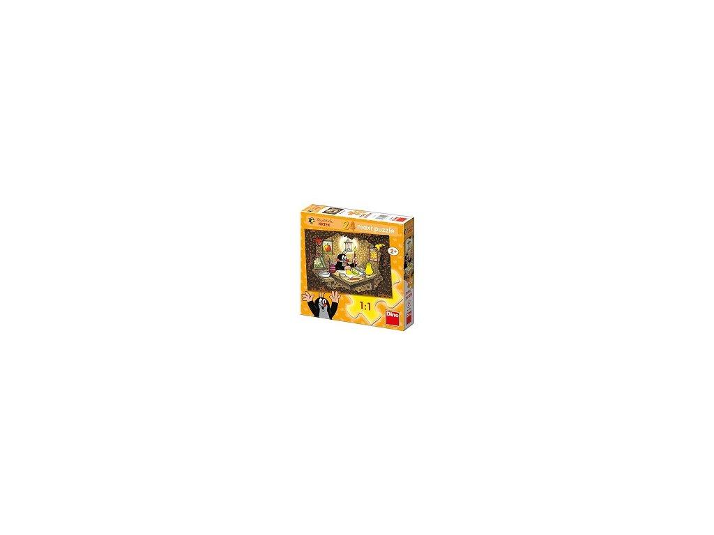 Dino maxi puzzle Krtko maluje 24 dielikov