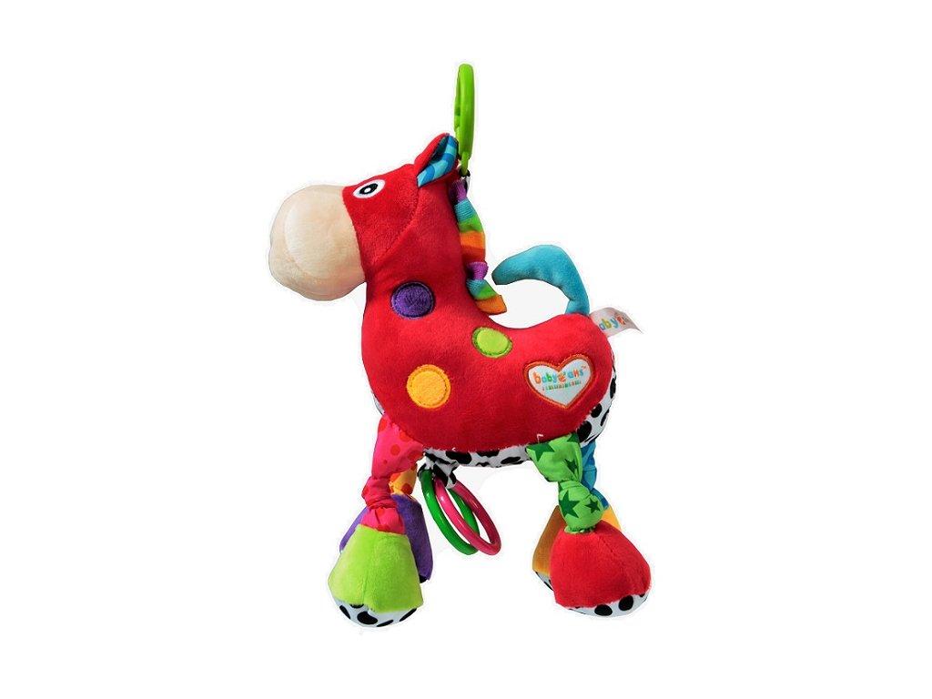 Závesná hračka - Červený koník