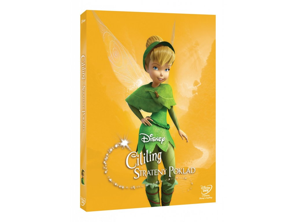 DVD Film - Walt Disney - Cililing A Stratený poklad EDV