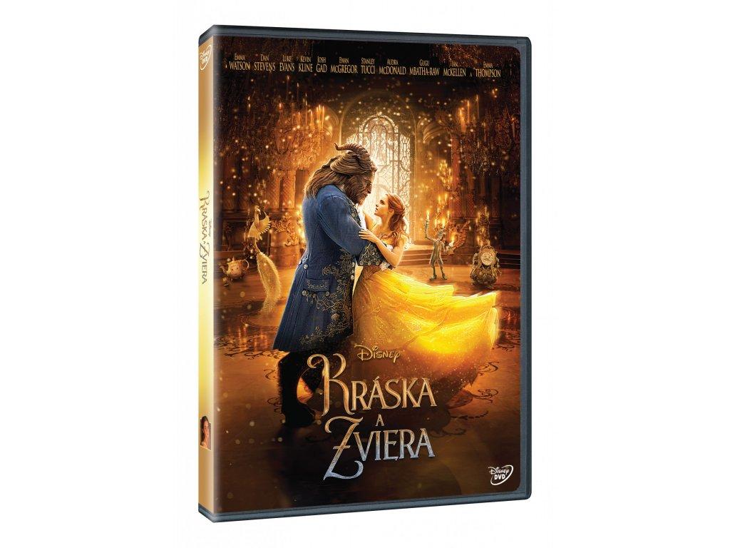 DVD Film - Kráska A Zviera