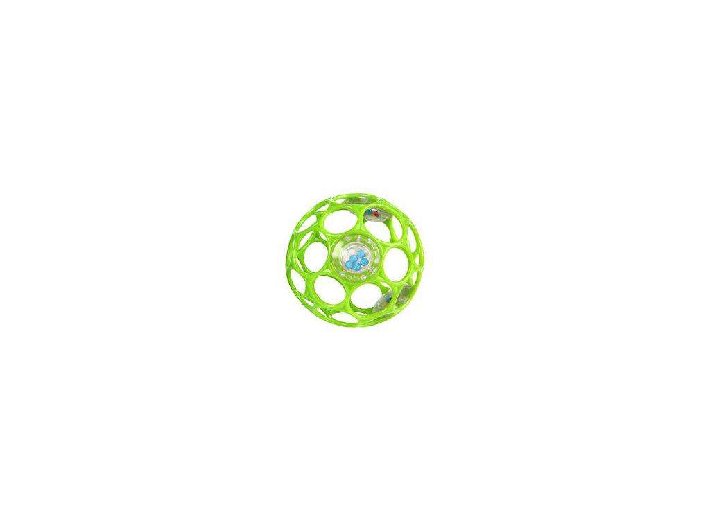 Oball lopta 10 cm - zelená