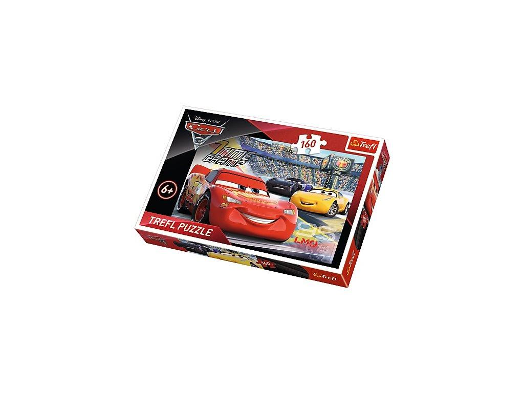 Trefl detské puzzle Cars 3 - Akcelerácia 160 dielikov