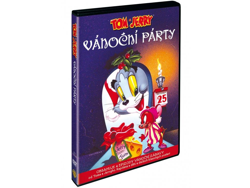 DVD - Tom a Jerry: Vánoční párty