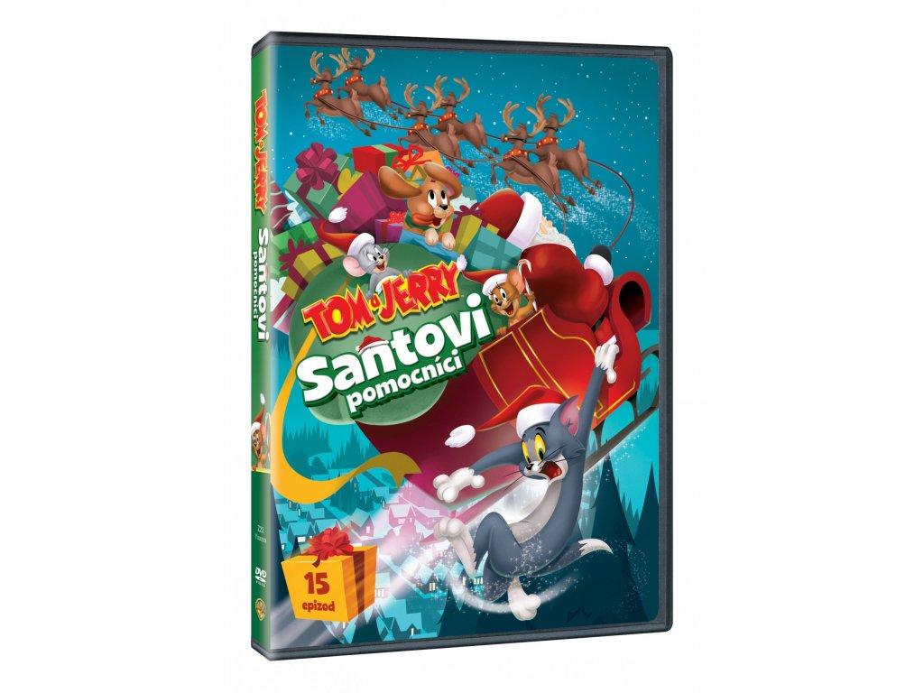 DVD - Tom a Jerry: Santovi pomocníci