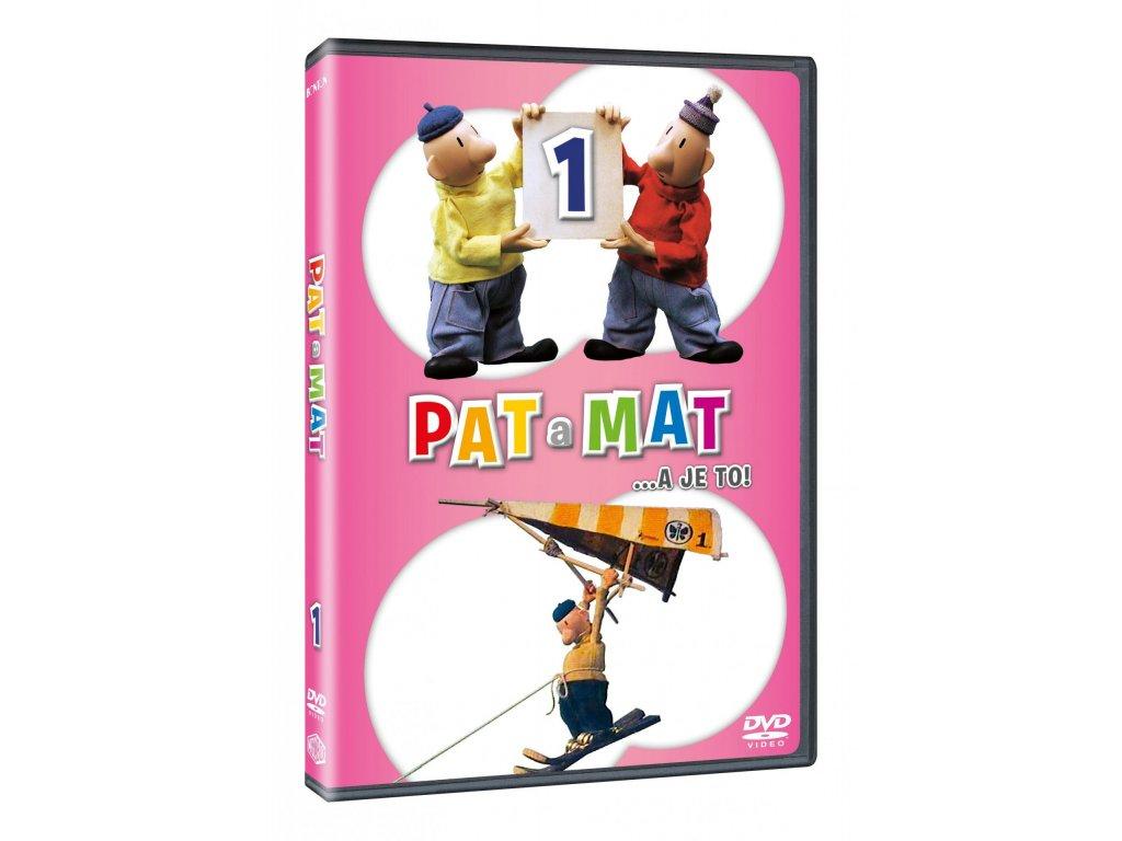 DVD - Pat a Mat 1
