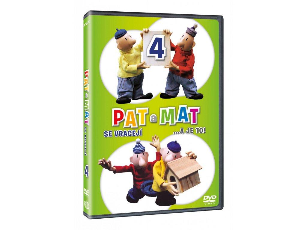 DVD - Pat a Mat 4