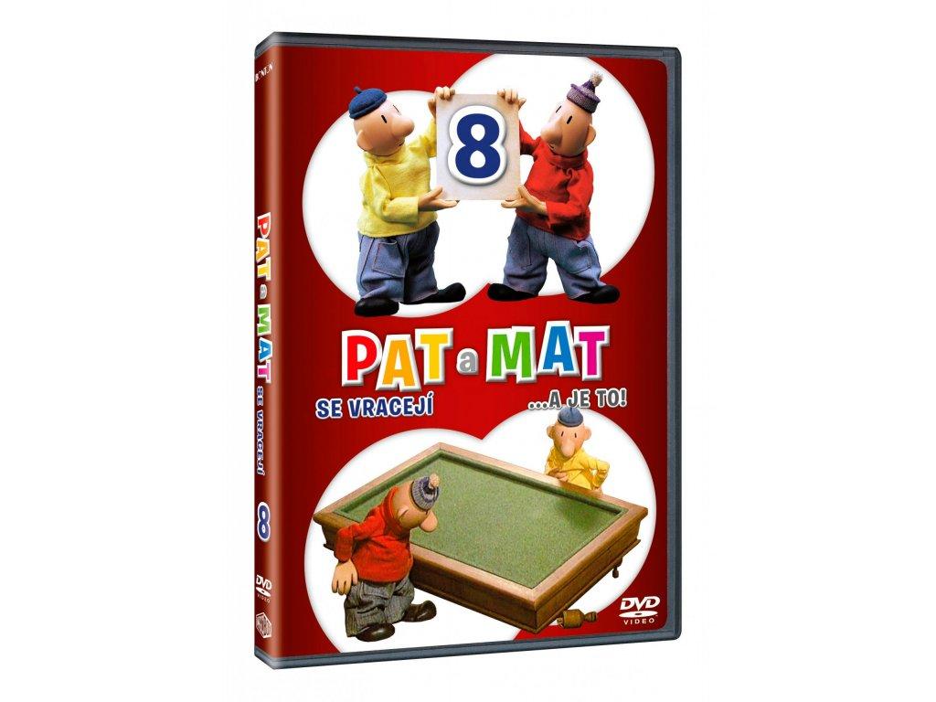 DVD - Pat a Mat 8