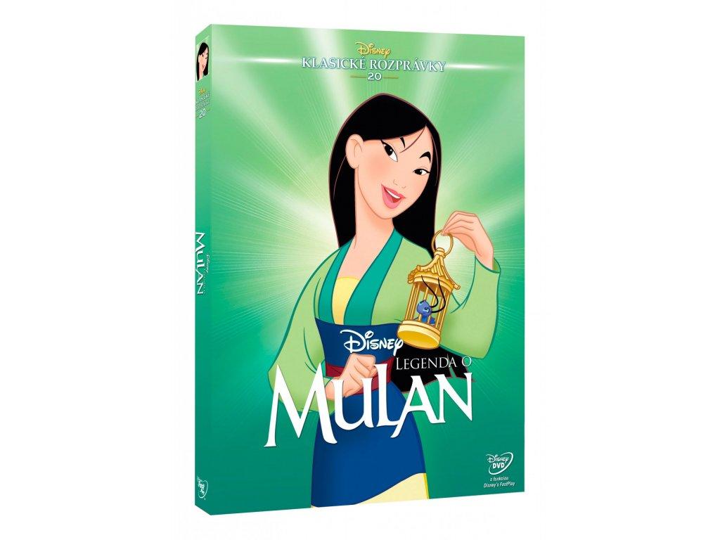 DVD Film - Walt Disney - Mulan