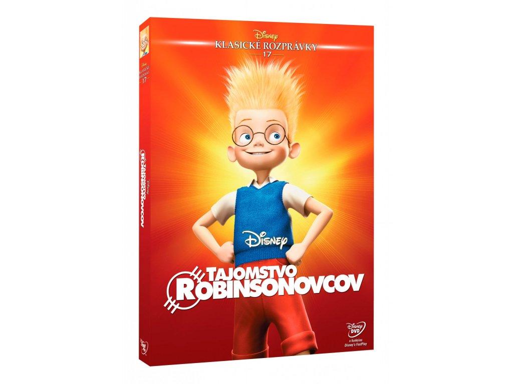 DVD Film - Walt Disney - Tajomstvo Robinsonovcov