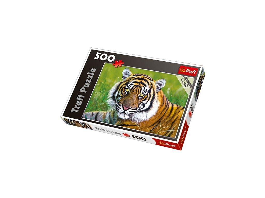 Trefl puzzle - Tiger 500 dielikov
