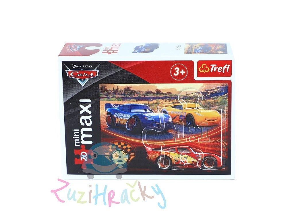 Trefl mini Maxi puzzle Autá 3 - 20 dielikov