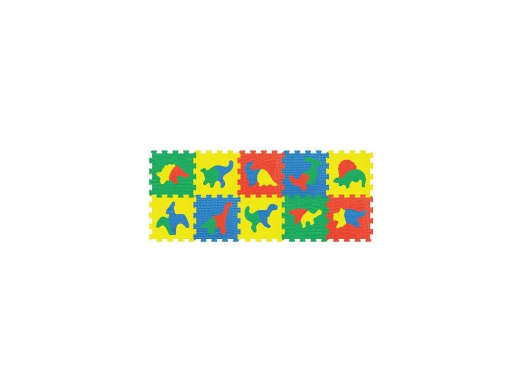 Smily Play Podlahové puzzle Dinosauri 30 dielikov