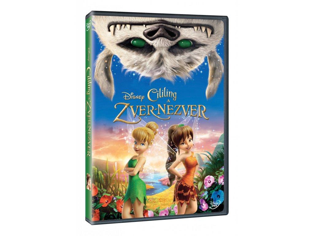 DVD Film - Walt Disney - Cililing a zver nezver