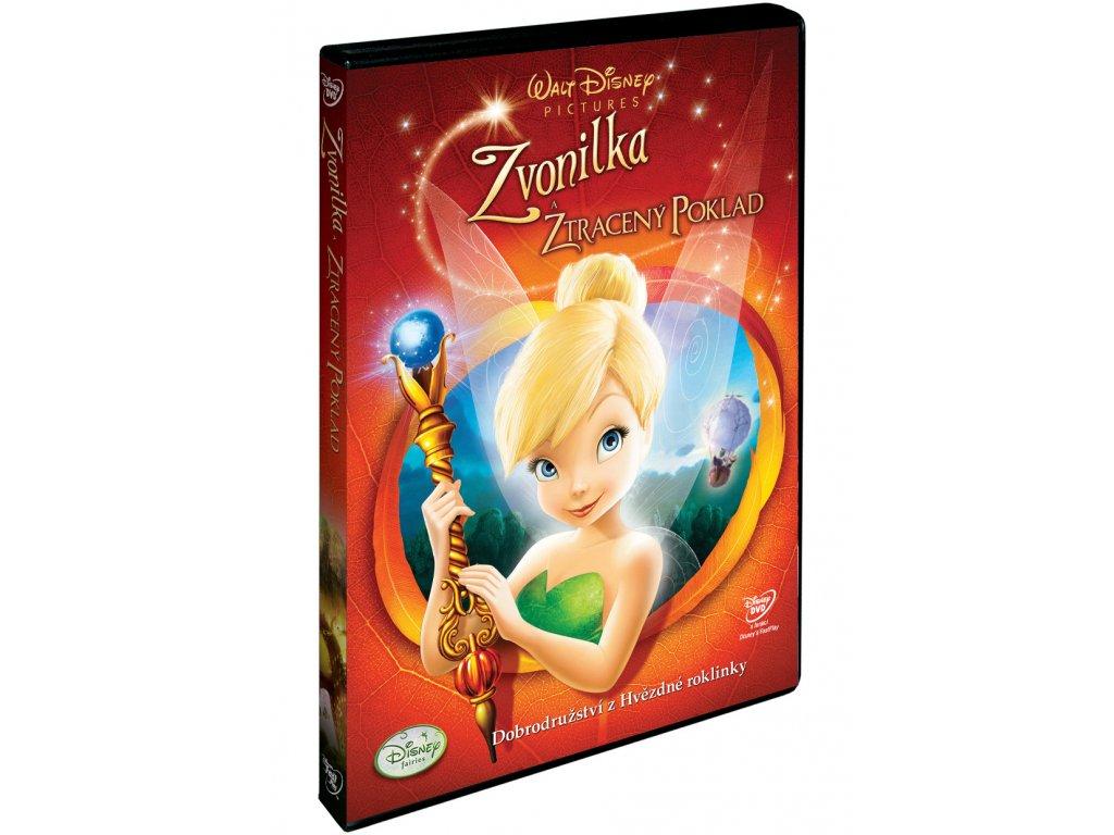 DVD Film - Walt Disney - Cililing  a stratený poklad