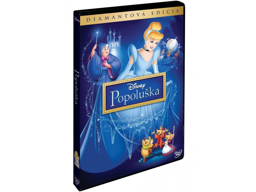 DVD Film - Walt Disney - Popoluška DE