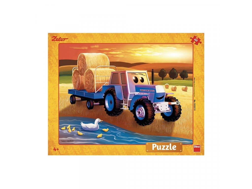 Dino puzzle Zetor 40 dielikov