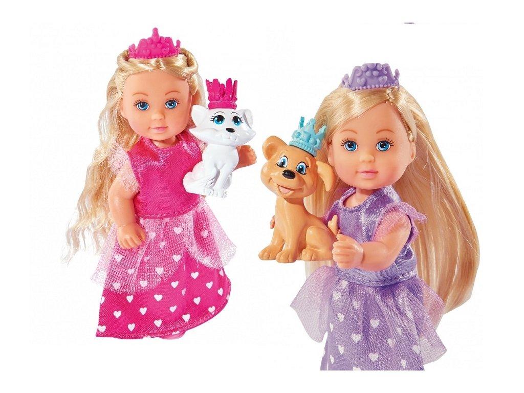 Bábika Evička - princezná so zvieratkom